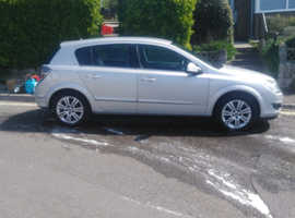 Vauxhall Astra, 2010 (10) Silver Hatchback, Manual Petrol, 93,000 miles
