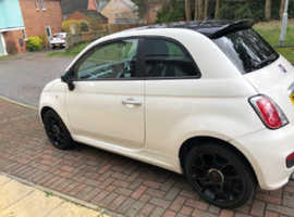 Fiat 500, 2014 (14) White Hatchback, Manual Petrol, 34,000 miles