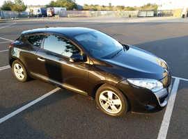 Renault Megane, 2010 (10) Black Coupe, Manual Diesel, 67,583 miles