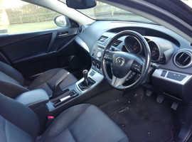 Mazda MAZDA 3, 2009 (09) Black Hatchback, Manual Petrol, 193,100 miles