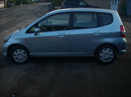 Honda Jazz, 2007 (07) blue hatchback, Manual Petrol, 107,859 miles