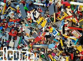 lego joblot mixed bricks 1KG ish parts plates genuine lego