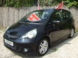 Honda Jazz, 2008 (08) Black Hatchback, Manual Petrol, 82,050 miles