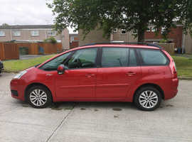 Citroen C4, 2008 (08) Red MPV, Manual Petrol, 172,781 miles