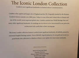 The Iconic London Collection from Westminster Collections,