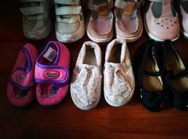 Girls infant shoe bundle size 4-4.5