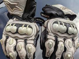 Alpine Stars Leather Gloves (USED)