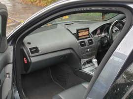 Mercedes C CLASS, 2010 (10) Grey Saloon, Automatic Diesel, 144000 miles