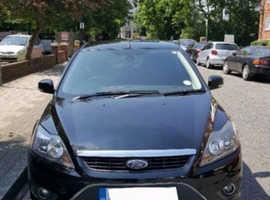 Ford Focus, 2008 (58) Black Hatchback, Manual Petrol, 66,000 miles