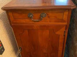 Solid Wood cupboard with lock