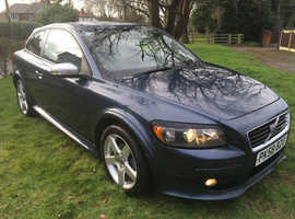 Volvo C30, 2008 (58) Blue Hatchback, Manual Diesel, 103,000 miles