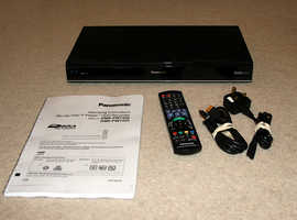 Panasonic Smart Freeview+ HD Recorder with Twin Tuners and 3D Blu-ray Disc Player.