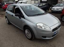 Fiat Grande Punto, 2006 (06) Grey Hatchback, Manual Petrol, 85,000 miles