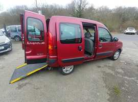 30e730402f Automatic Renault Kangoo Autograph Wheelchair Access Vehicle 47000 miles