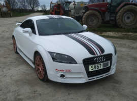 Audi TT, 2007 (57) White Coupe, Manual Petrol, 76,217 miles