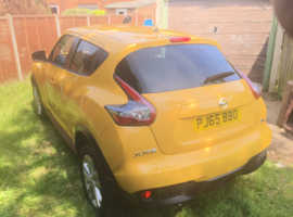 Nissan Juke 2015, 18000 miles, perfect condition, one keeper