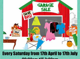 Garage Sale TOMORROW! Saturday 1st May