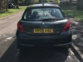 Peugeot 207, 2009 (09) Green Hatchback, Manual Petrol, 62,700 miles