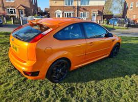 Ford Focus, 2006 (06) Orange Hatchback, Manual Petrol, 91,500 miles