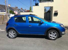 Dacia Sandero, 2014 (14) Blue Hatchback, Manual Petrol, 36,500 miles