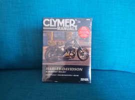 Brand new Clymer Harley service manual.