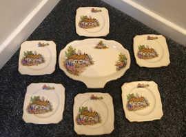 1950's Vintage Alfred Meakin England Sandwich set