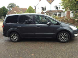 FORD GALAXY 2.0 TDCI GHIA DIESEL 7 SEATER FULL SERVICE HISTORY MOT 8 MONTHS LEATHER INTERIOR ALLOYS