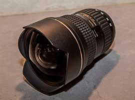 Tokina SD 16-28mm f2.8 FX AT-X PRO lens
