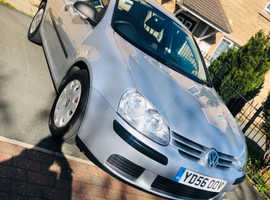 Volkswagen Golf, 2006 (56) Silver Hatchback, Manual Diesel, 127,000 miles