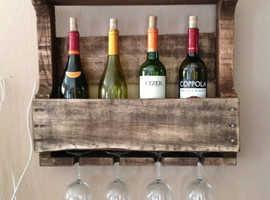 Lovely hand made wine rack