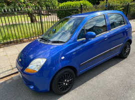 2007 57 Plate Chevtolet Matiz 1.0 SE, Met Blue, Fiesta, Golf, Polo, Corsa