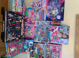 Girls branded toy bundle