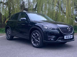 £99DEPOSIT&£257PCM,Mazda CX-5, 2016 (16) Black Estate, Manual Diesel, 18,900 miles