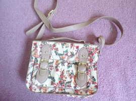 George floral print shoulder bag new