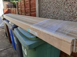 Brand New unopened Light Oak Veneer MDF Skirting Board