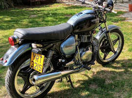 Classic rare twin cylinder Honda dream