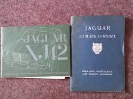 jaguar maintenance hand books