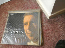 Selection of L.P. Mantovani Vinyl Records + Others