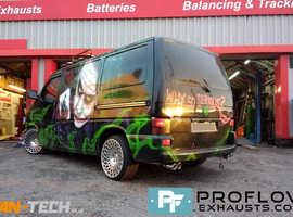 Proflow Custom built Exhaust for VW T4 Transporter