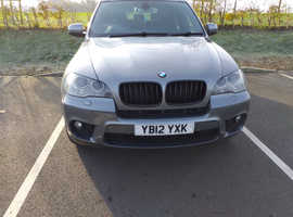 BMW X5, 2012 (12) Grey Estate, Automatic Diesel, 109,250 miles