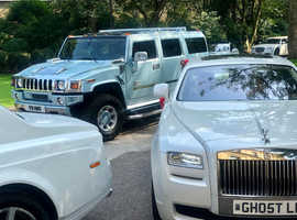 Rolls Royce Phantom Ghost Wedding Car Hire with Driver Chauffeur Service