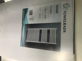 Chrome towel radiators