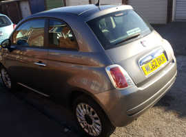 Fiat 500, 2012 (62) Grey Hatchback, Manual Petrol, 44,000 miles