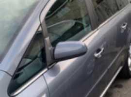 Vauxhall Zafira, 2006 (06), Manual Petrol, 14,000 miles