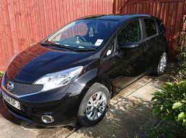Nissan Note, 2014 (64) Black MPV, Manual Petrol, 50,521 miles