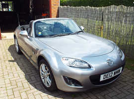 Mazda MX-5, 2012 (12) Silver Convertible, Manual Petrol, 20,000 miles