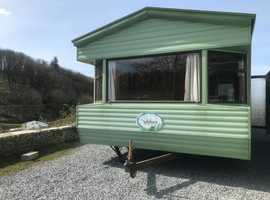 Sited Static Caravan For Sale On West Coast Of Scotland - Free Site Fees - 11 Month Park