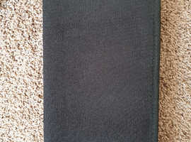 New Pullman black canvas CD or DVD holder, case or CD wallet