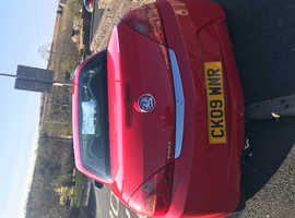 Vauxhall Tigra, 2009 (09) Red Coupe, Manual Petrol, 47.000 miles