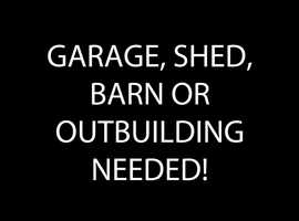 Garage - Outbuilding - Barn - Workspace - wanted to work on a small bus